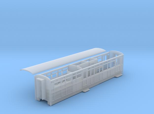 Ffestiniog Railway Barn service coach NO.124 in Smooth Fine Detail Plastic