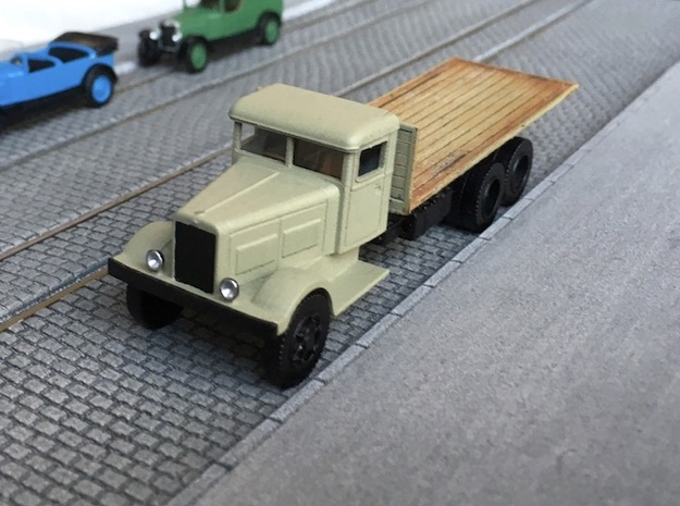 Berliet GPE 1933 - Ho 1:87 in Smooth Fine Detail Plastic