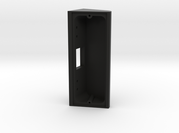 70 Degree Wedge for Newly Re-Designed Ring Doorbel in Black Natural Versatile Plastic