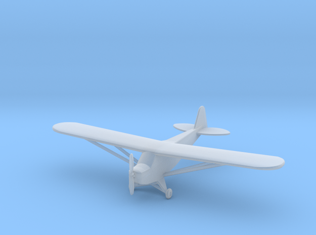 Piper J3 Cub - 1:200scale in Smooth Fine Detail Plastic