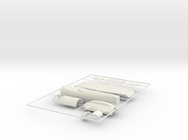 1/100 Heinkel Projeckt P.1077 Julia in White Natural Versatile Plastic
