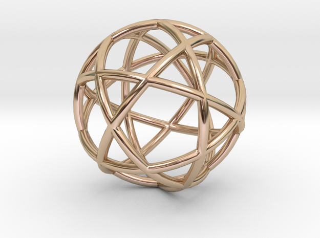 Life 6D Core in 14k Rose Gold