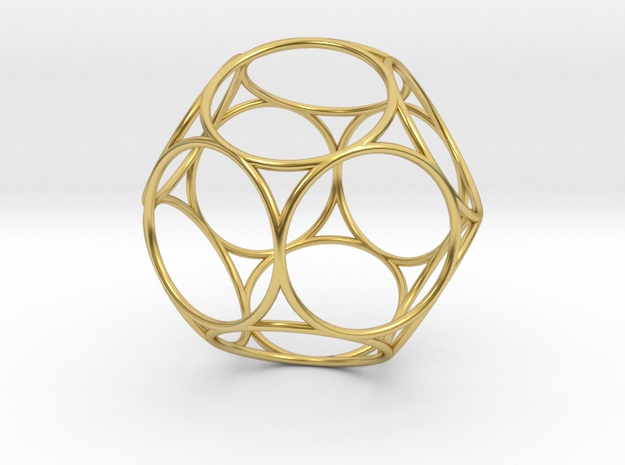 Life 6D Light in Polished Brass