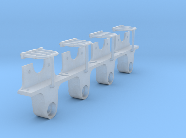 AB03 - FR Axlebox for wooden framed wagons(SM32) in Smooth Fine Detail Plastic