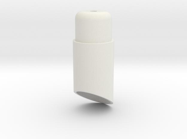 08.01.08.01 Lamp Body in White Natural Versatile Plastic