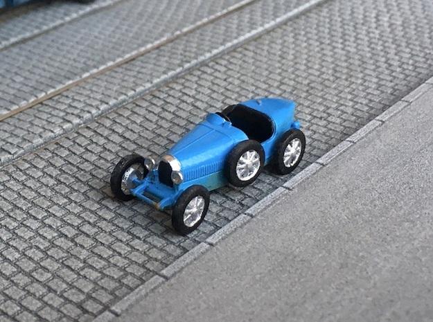 1:87 Bugatti 35 1925 in Smooth Fine Detail Plastic