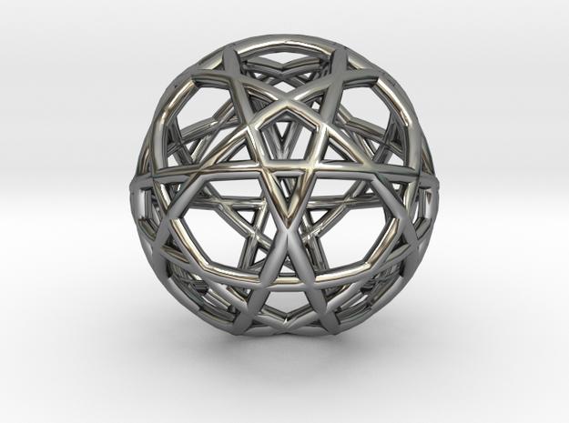 Gen Water 10D Relativity Core in Fine Detail Polished Silver
