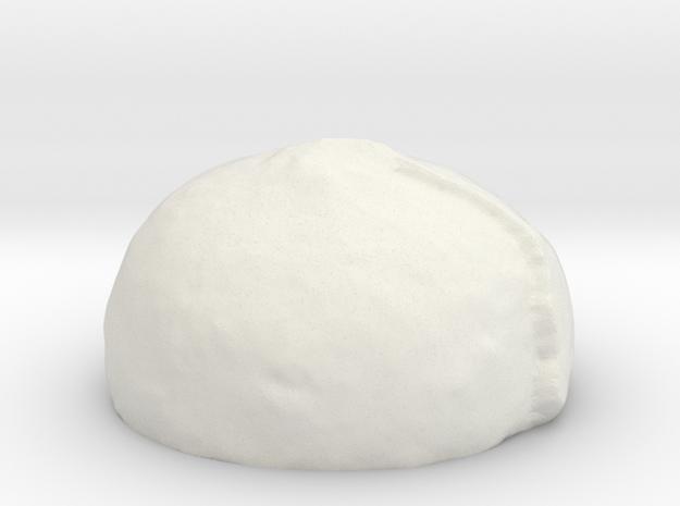 ! - Snow Ridge Planet in White Natural Versatile Plastic