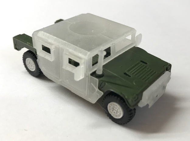 M1165 Humvee Armor in Smooth Fine Detail Plastic