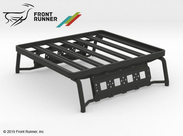 PM10010 Metric Overland bed rack in Black Natural Versatile Plastic