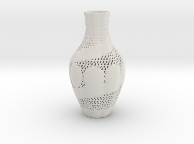Vase 10433 in Matte Full Color Sandstone