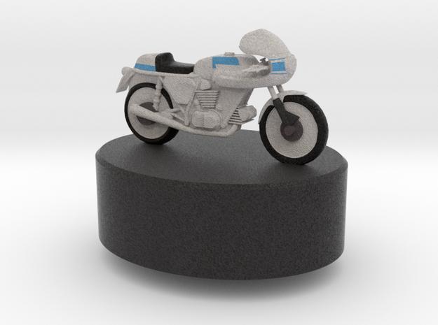 Ducati Bike in Natural Full Color Sandstone