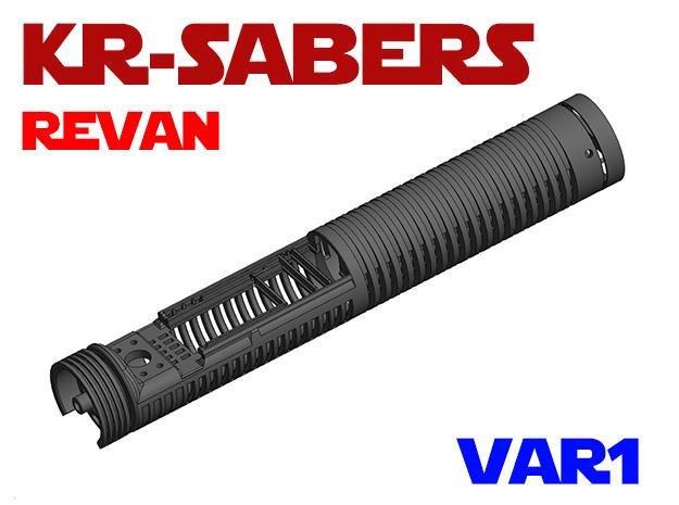 KRxOR - Revan Var1 in White Natural Versatile Plastic
