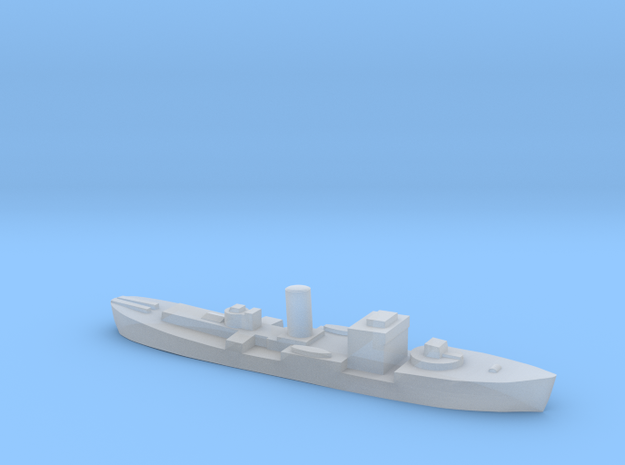 HMS Gloxinia corvette 1:3000 WW2 in Smoothest Fine Detail Plastic