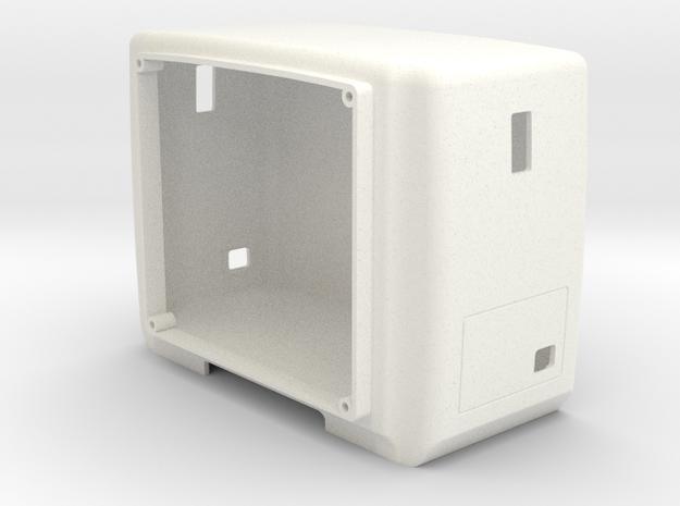 Western Star style 40 inch sleeper in White Processed Versatile Plastic