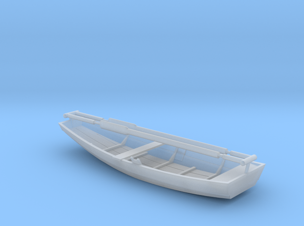 RowBoat H0 in Smooth Fine Detail Plastic