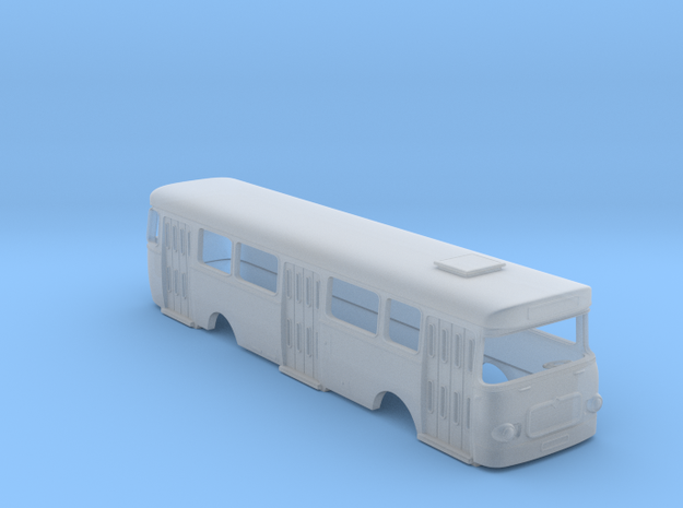 Roman 112 U Bus Body Scale 1:87 in Smooth Fine Detail Plastic