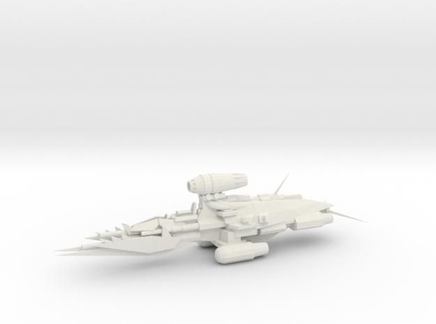 Alternative Kruiser - Concept A  in White Natural Versatile Plastic
