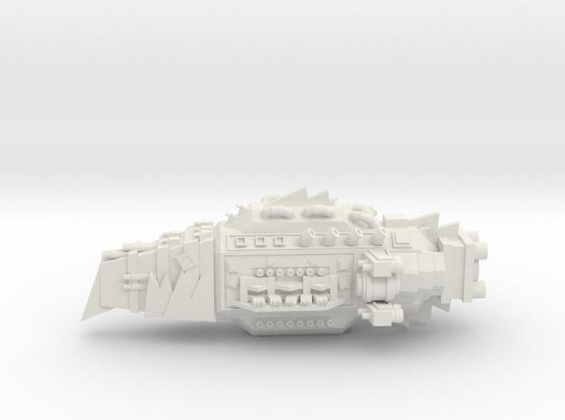! - Terror Kruiser - Concept A  in White Natural Versatile Plastic