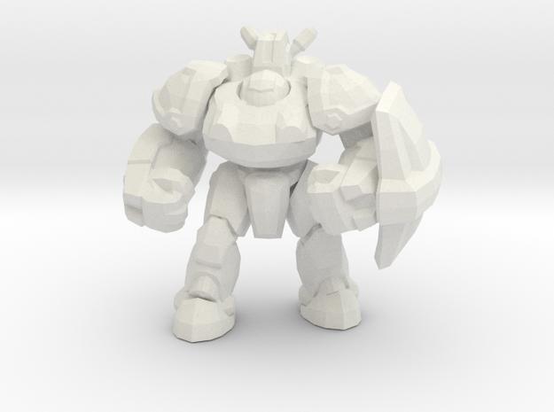 Starcraft 1/60 Terran Marauder Armored Soldier in White Natural Versatile Plastic