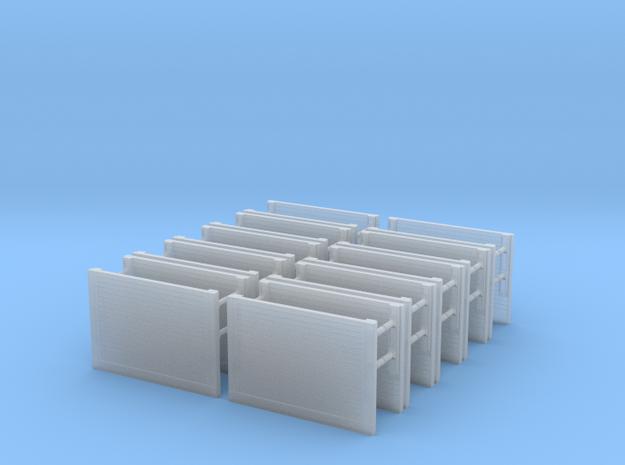 N 1:160 Verbaubox Set 3,5m in Smooth Fine Detail Plastic