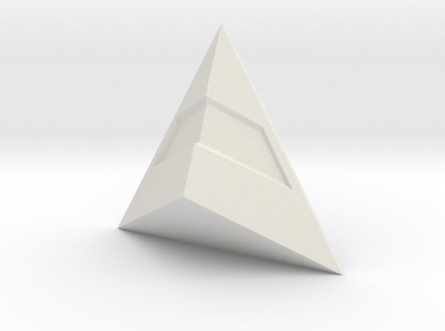 Daft Punk Thomas pendant in White Natural Versatile Plastic