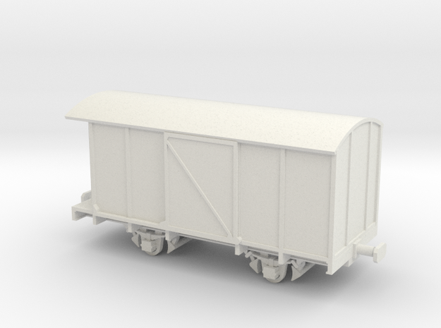 FCL carro Fcm IN H0 in White Natural Versatile Plastic