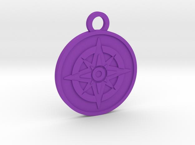 The Star in Purple Processed Versatile Plastic