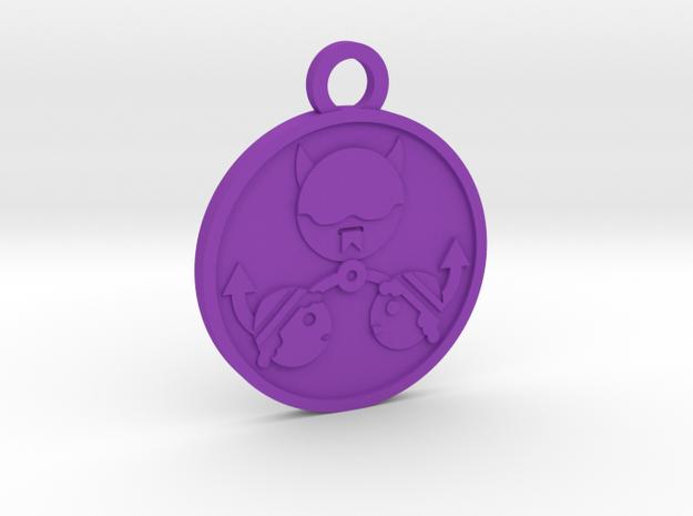 The Devil in Purple Processed Versatile Plastic