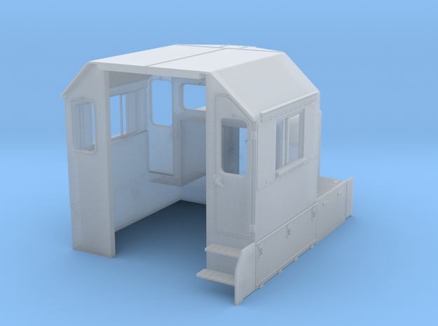 CN GP38-2 Spartan Cab, As-Built 1/87.1 in Smoothest Fine Detail Plastic