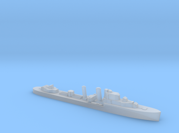 HMS Intrepid destroyer 1:2400 WW2 in Smoothest Fine Detail Plastic