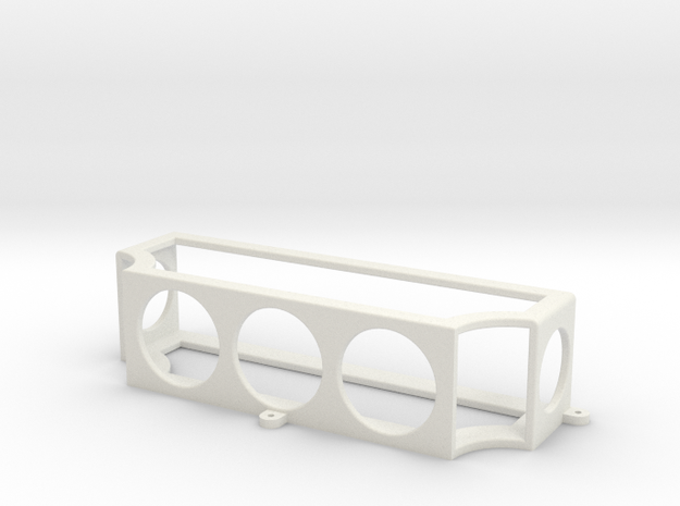 Mac Mini Wall Mount in White Natural Versatile Plastic