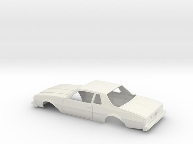 1/25 1977-78 Chevrolet Impala Coupe Body in White Natural Versatile Plastic