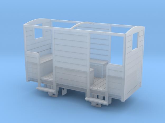 RNAD Brake Van - Open Variant - 7mm scale in Smooth Fine Detail Plastic