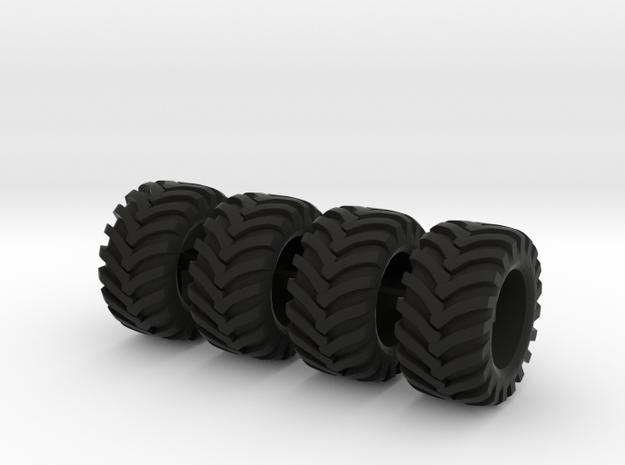 Alliance banden voor mobiele kranen in Black Natural Versatile Plastic