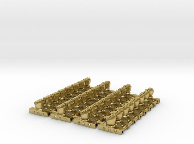 FO Fahrdrahthalter (32x) in Natural Brass