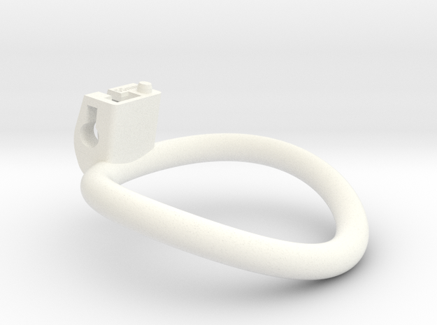 Cherry Keeper Ring - 55mm in White Processed Versatile Plastic