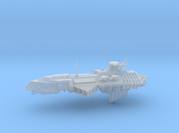 Chaos Cruiser Concept - D  in Smooth Fine Detail Plastic