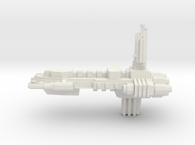 Chaos Escort - Concept A  in White Natural Versatile Plastic