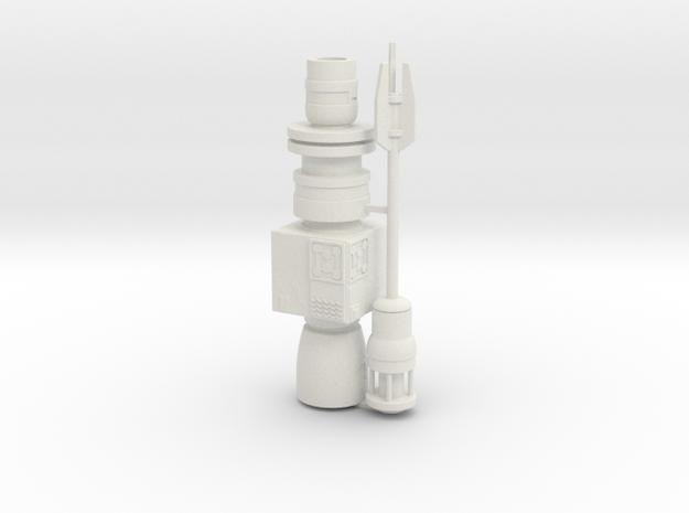 1:72 Rebel Antenna single pack in White Natural Versatile Plastic