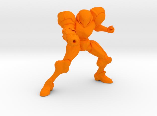 samus trophy in Orange Processed Versatile Plastic