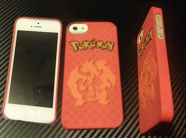 Pokemon Case for IPhone 5 (Charmander Evo. Ver.) in White Processed Versatile Plastic