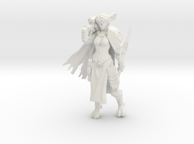 Greater Good Veteran Knight in White Natural Versatile Plastic