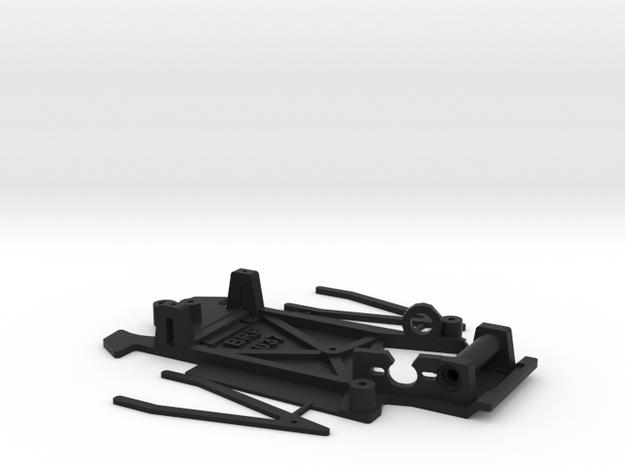 Chasis 037 Ninco bancada integrada in Black Natural Versatile Plastic