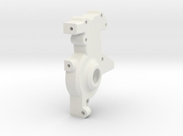 TRF211 3 Gear Layback LH Case in White Natural Versatile Plastic