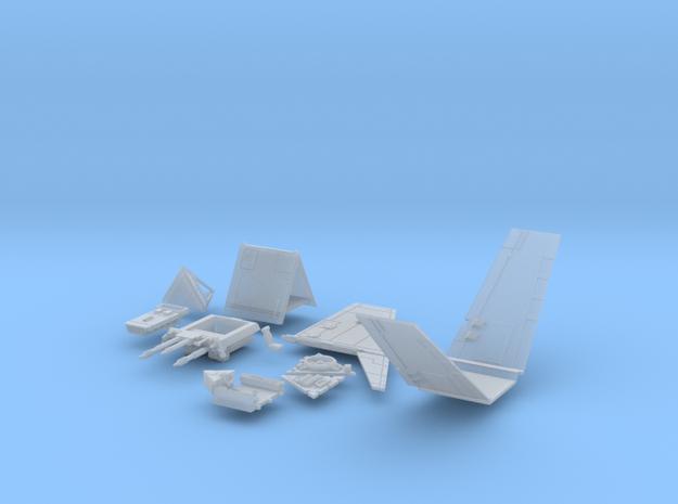 Incom T-16 Skyhopper #101 in Smooth Fine Detail Plastic