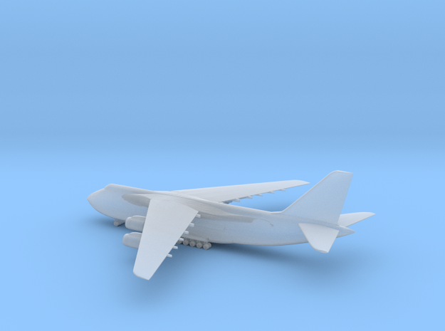 1/1250 AN-124 (landing gears down) in Smooth Fine Detail Plastic