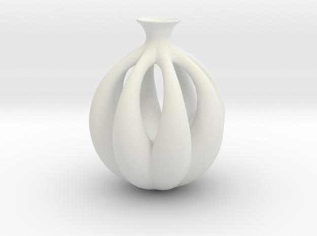 Vase 5081036 in White Natural Versatile Plastic