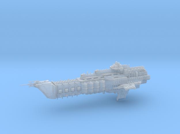 Navy Alternative Cruiser - Concept 1  in Smooth Fine Detail Plastic