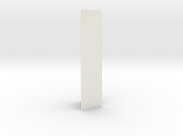 Aqueduct Enforcement Pillar in White Natural Versatile Plastic
